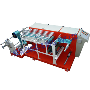 Winding Rewinding Machine With Multihead Inkjet Printer