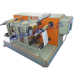Winding Rewinding Machine With Thermal Transfer Overprinter TTO
